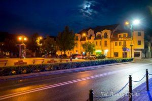 Barlinek nocą - nocne zdjęcia Barlinka